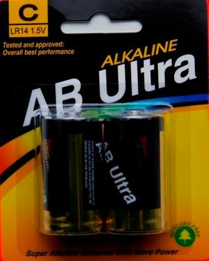Batteri AB ULTRA TYPE  C / LR14  1,5 V